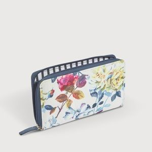 Designers Guild Couture Rose Fuchsia Wallet NWT